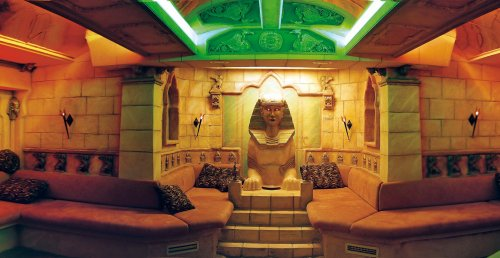 Egyptian Sand Relaxation Room