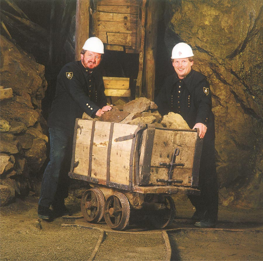 Silberberg Barbarastollen in Bodenmais