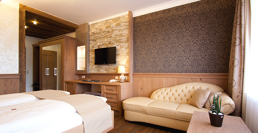 Hotelzimmer Kategorie 21 Sitzecke