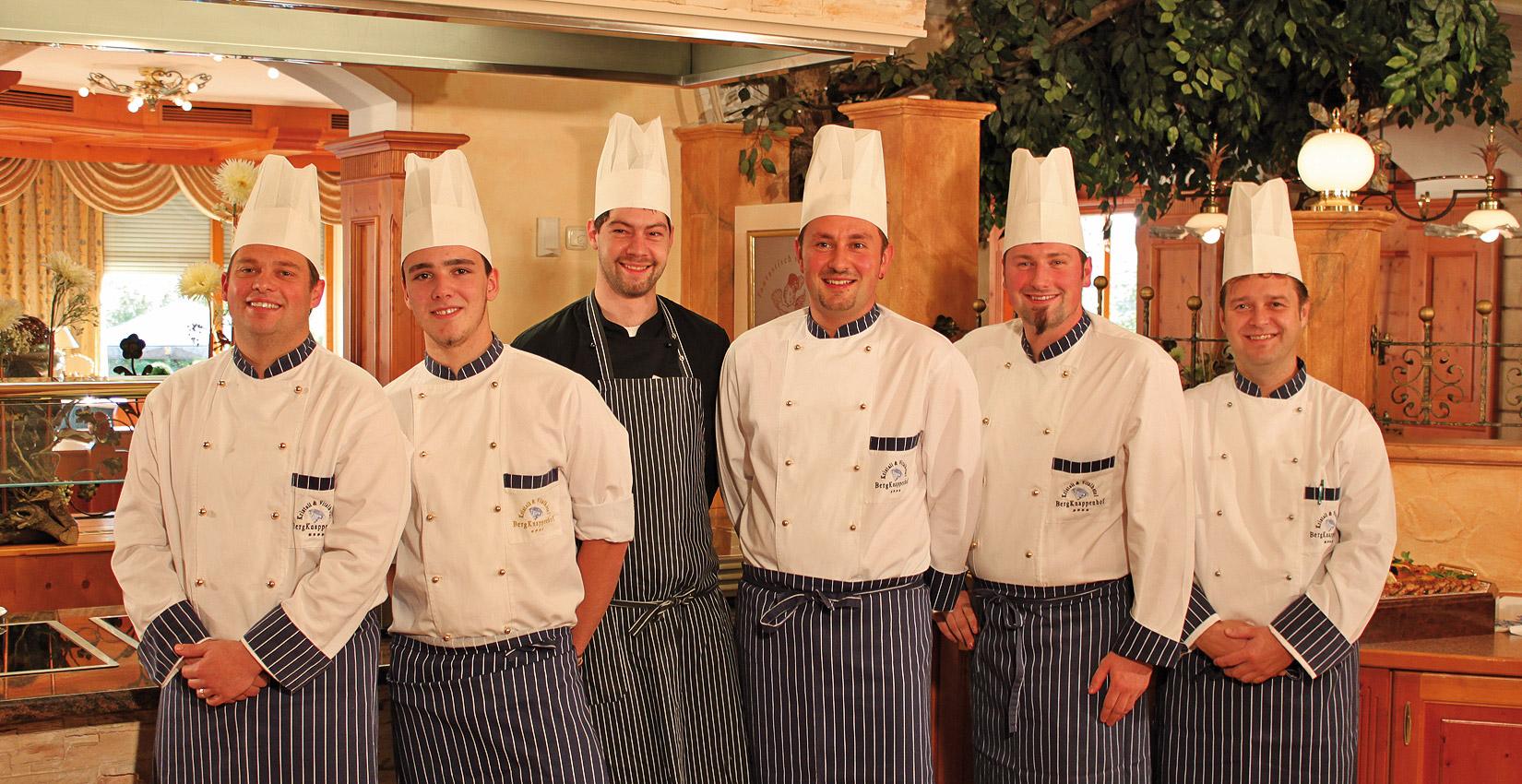 Hotel Bergknappenhof Küchenteam