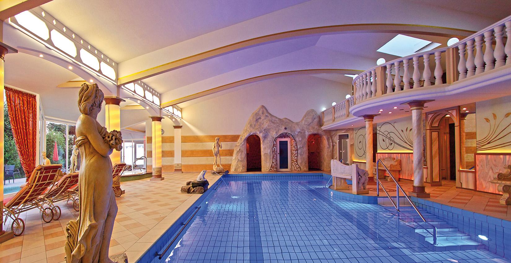 Hotel Bergknappenhof Hallenbad