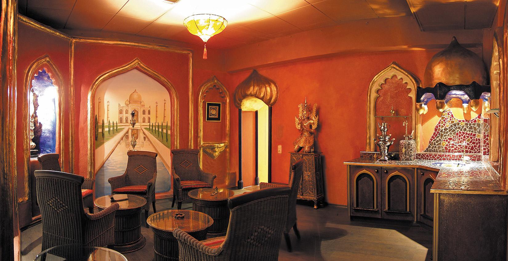 Indischer Teetempel
