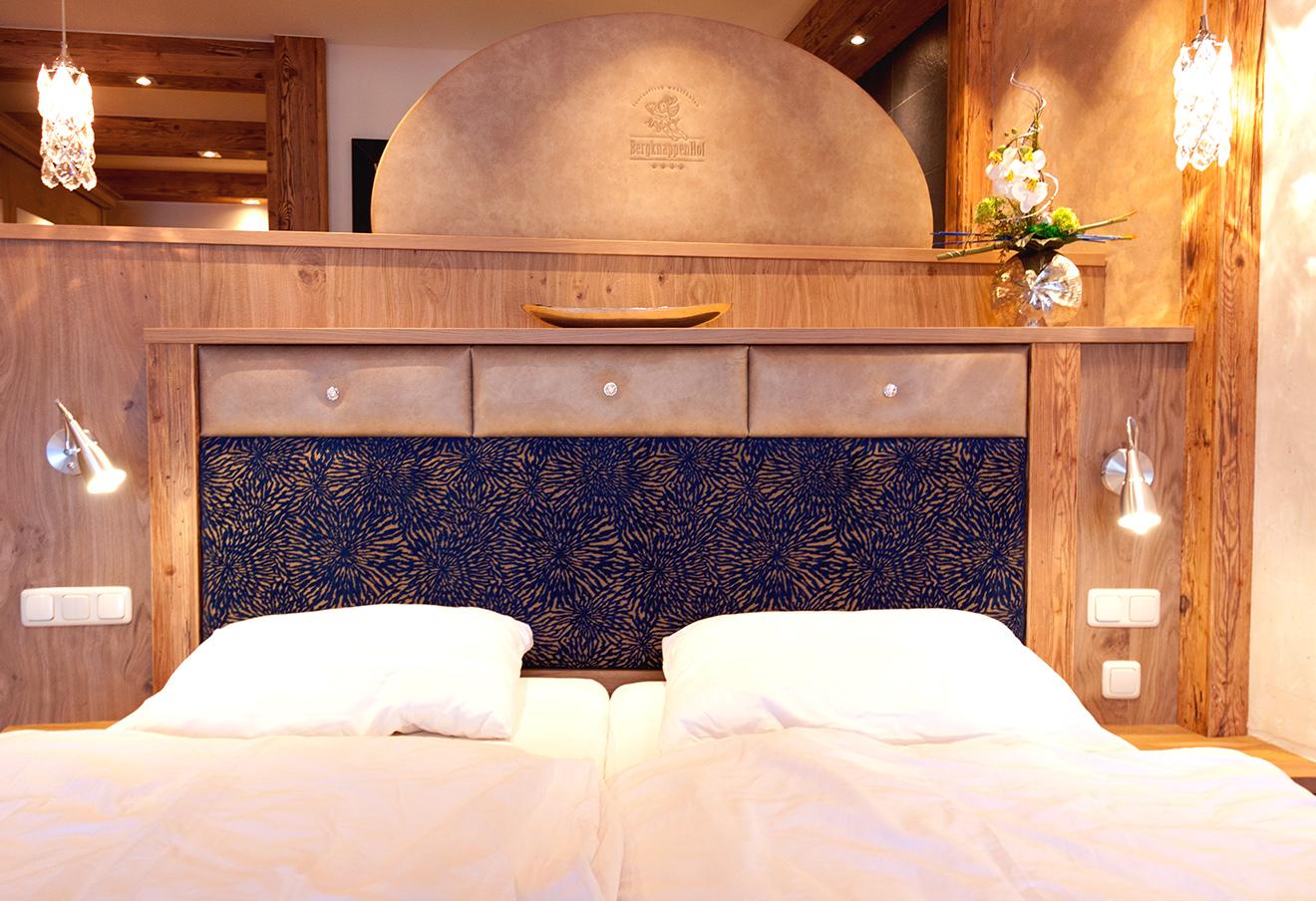 Hotel Bergknappenhof Bodenmais Kategorie 8 Bett