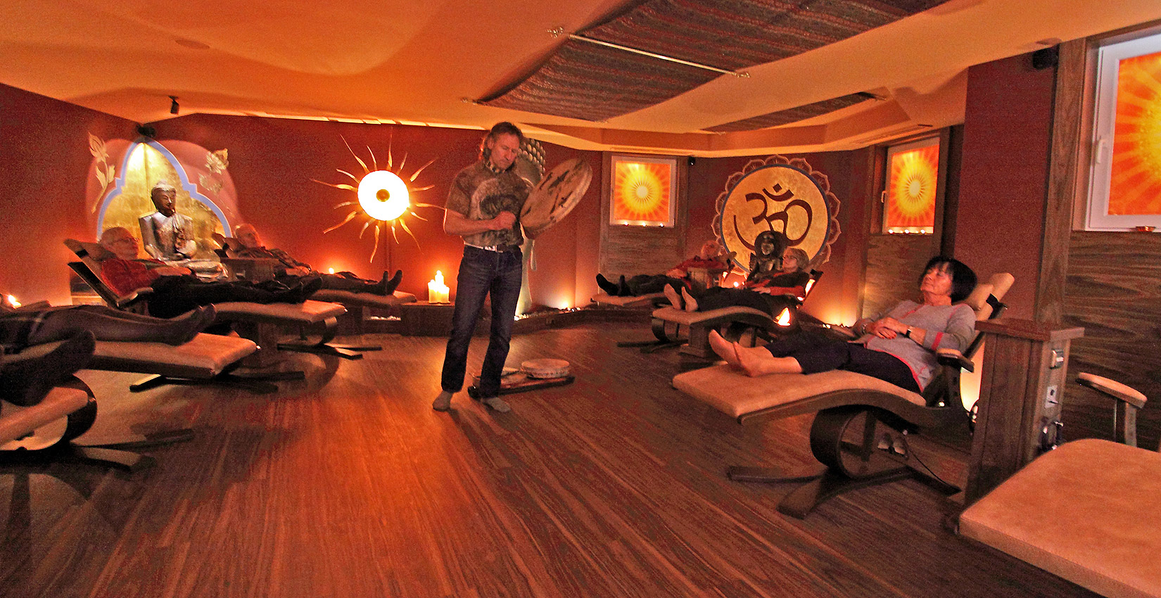 Indischer Meditationsraum im Bergknappenhof