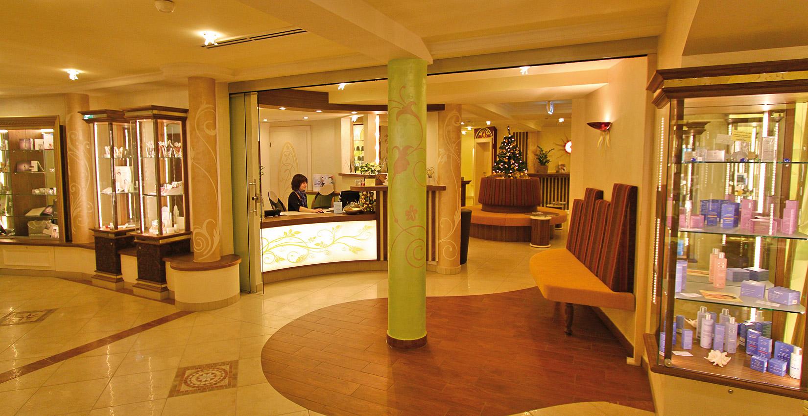 Wellness-Shop im Hotel Bergknappenhof
