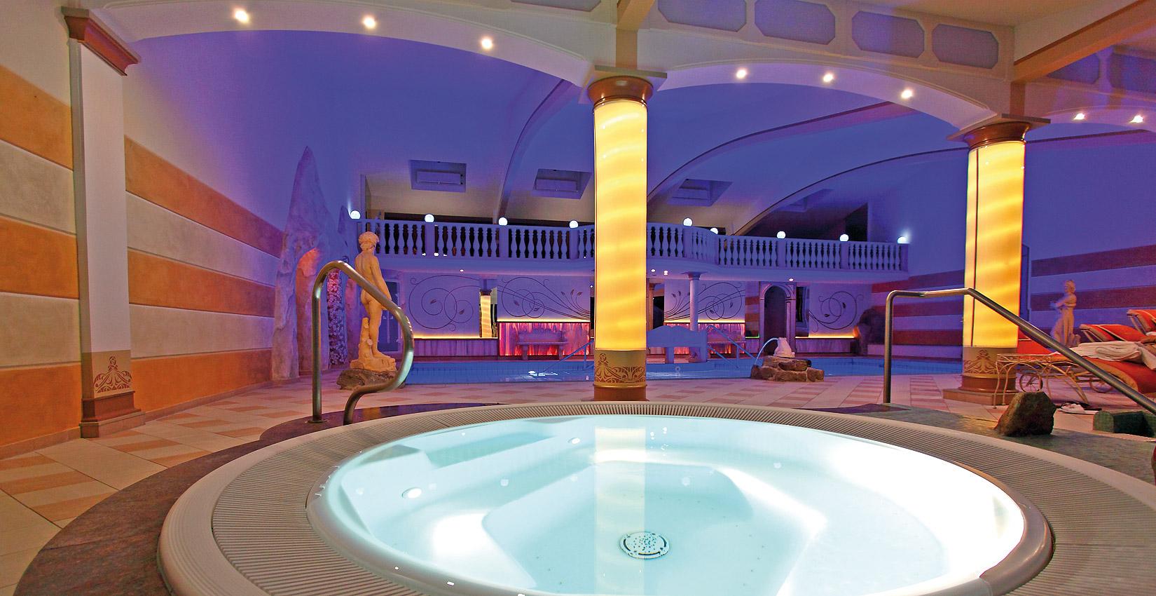 Whirlpool im Hotel Bergknappenhof