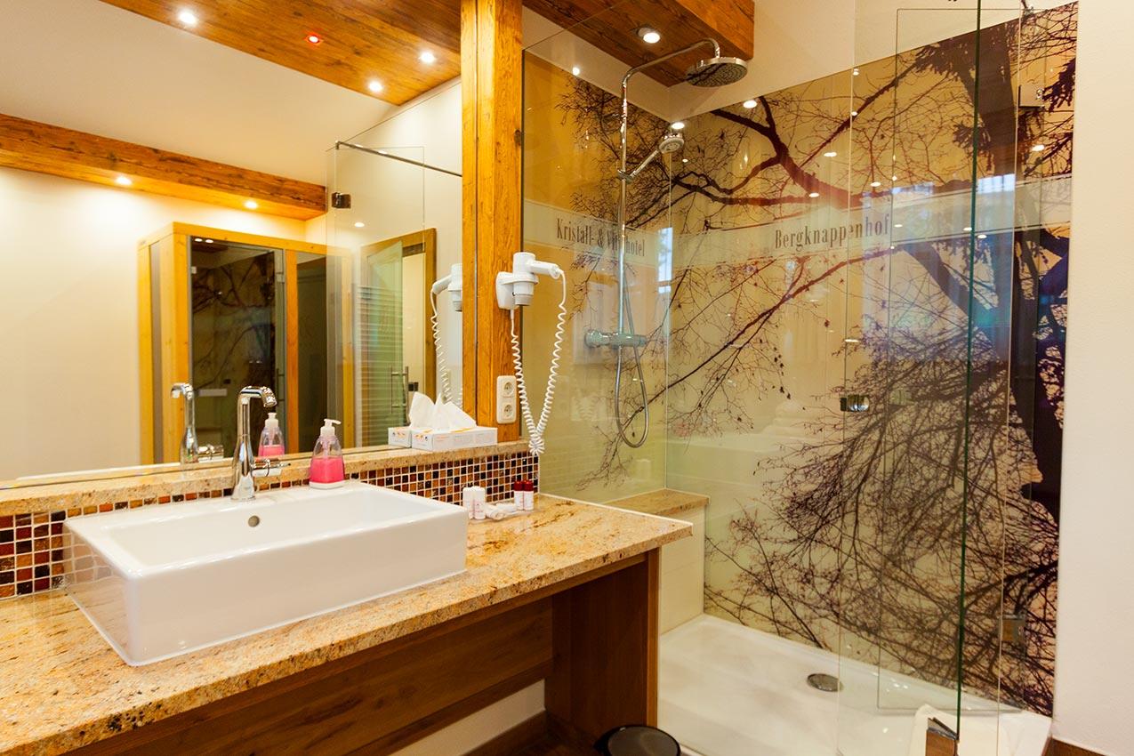 Appartement Kategorie 12a Badezimmer