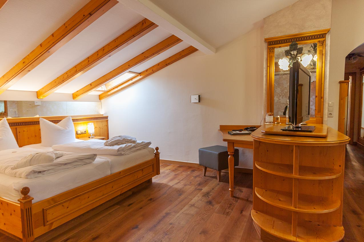 Steigersuite Kategorie 6 Schlafzimmer