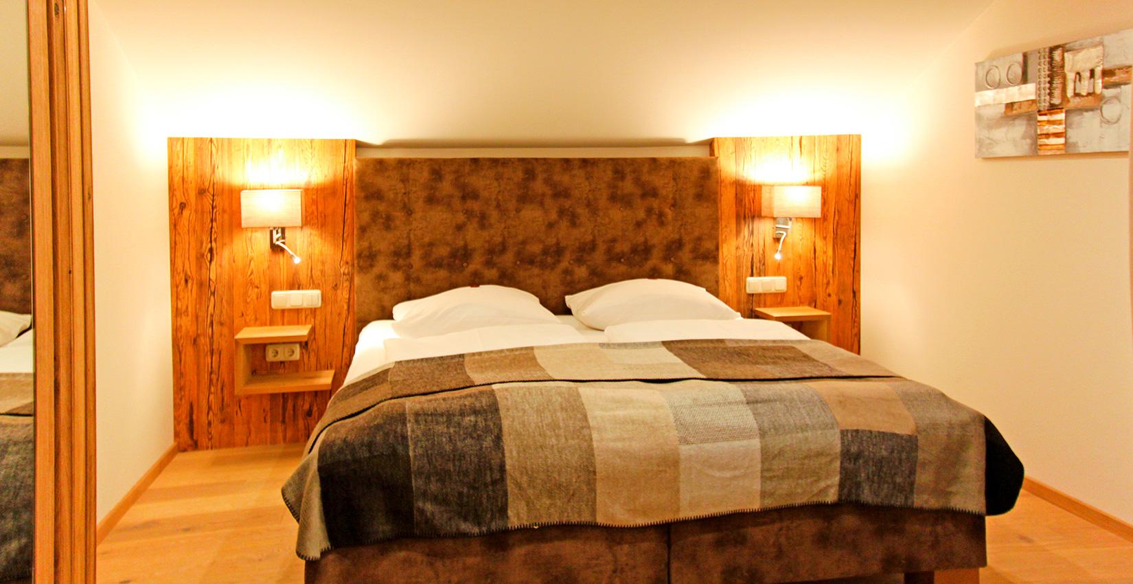 Ferienappartements Bergknappenhof Kategorie 12 Schlafzimmer