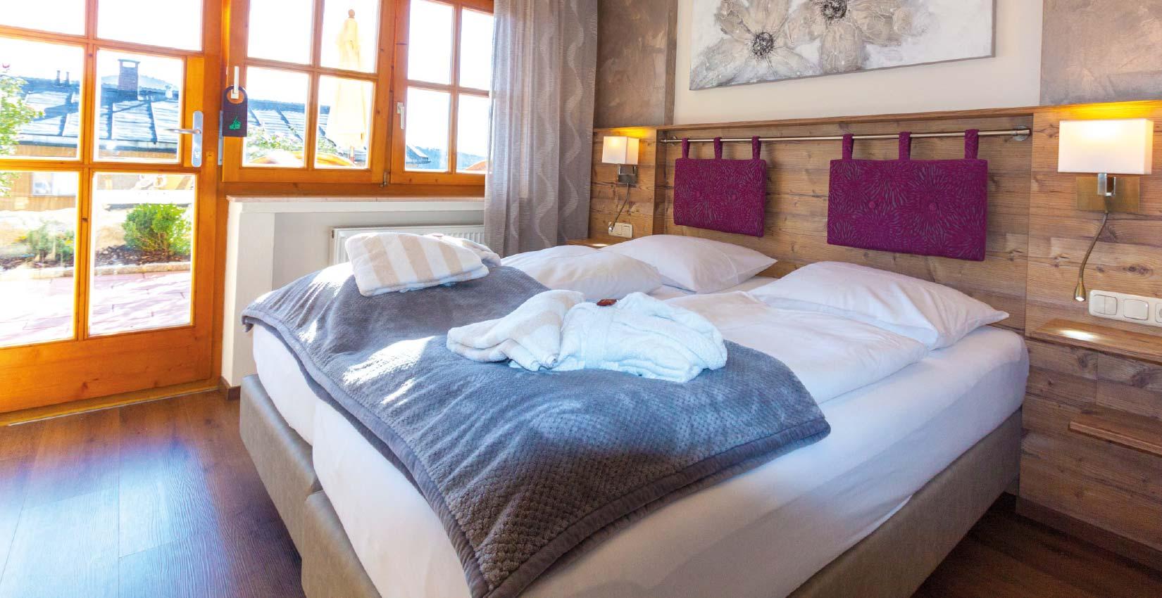 Ferienhaus Bergknappenhof Kat 12c Schlafzimmer