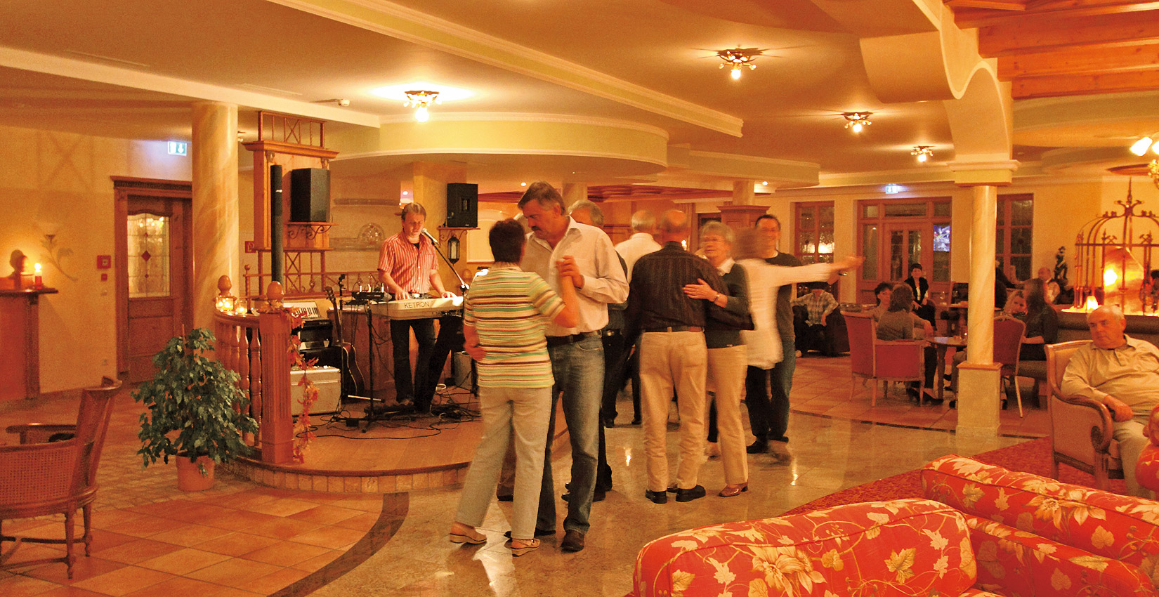 Hotel Bergknappenhof Tanzabend