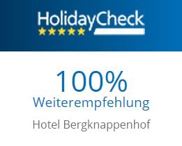 Holiday Check Hotel Bergknappenhof